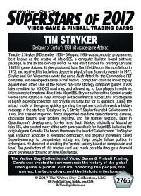 2765 Tim Stryker