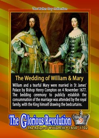 0009 - Marriage of William and Mary - November 4, 1677