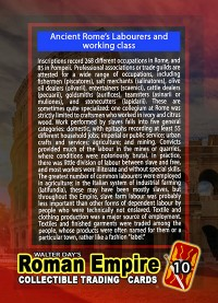 0010 - The Working Class of Rome