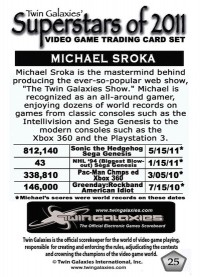 0025 Michael Sroka - Prototype Card