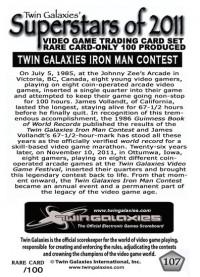 0107 Twin Galaxies' 2nd Iron Man Championship