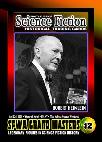 0012 - Robert Heinlein - SFWA Grand Master