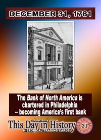 0021 - December 31, 1781 - America's First Bank
