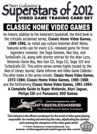 0227 Classic Home Video Games