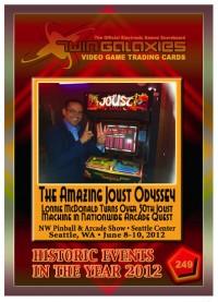 0249 The Amazing Joust Odyssey