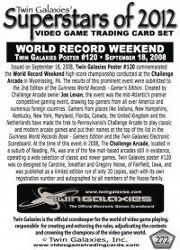 0272 World Record Weekend
