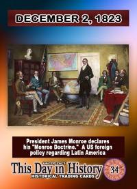 0034 - December 2, 1823 - James Monroe Proposes the Monroe Doctrine