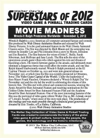 0362 Movie Madness Wreck It Ralph