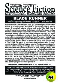 0041 Blade Runner - Cinefantasique Magazine