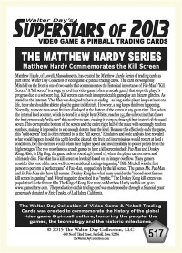 0517 Billy Mitchell Matthew Hardy Kill Screen