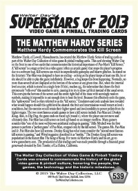 0539 Matthew Hardy Kill Screen