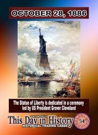 0054 - October 28, 1886 - Statue of Liberty Dedicated