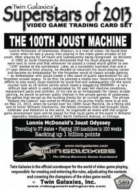 0589 Lonnie McDonald's 100th Joust
