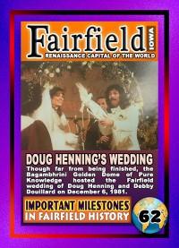 0062 Doug Henning's Wedding