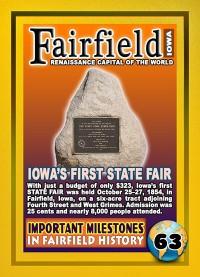 0063 First Iowa State Fair
