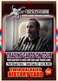 0792A Trading Cards On Tour