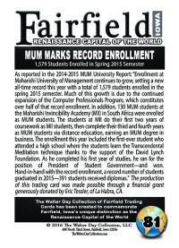 0081 MUM Record Enrollment
