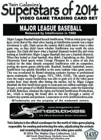 1435 Major League Baseball (INTV)