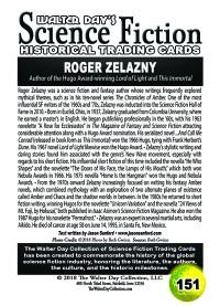 0151 Roger Zelazny
