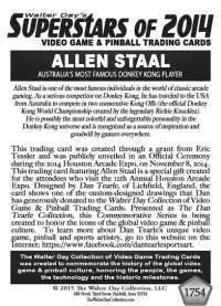 1754 Allen Staal - Dan Tearle Collection
