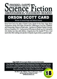 0018 Orson Scott Card
