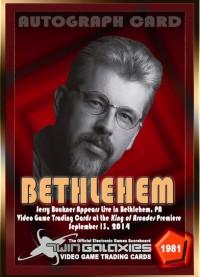 1981 Jerry Buckner In Bethlehem