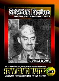 0207 L. Sprague de Camp - SFWA Grand Master