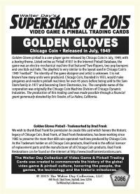 2086 Golden Gloves - Chicago Coin