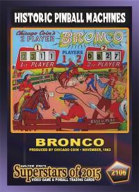 2106 Bronco - Chicago Coin