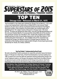 2136 Top Ten - Chicago Coin