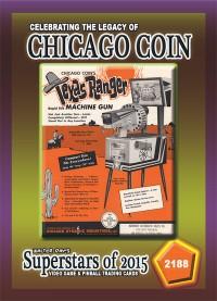 2188 Texas Ranger Machine Gun - Chicago Coin