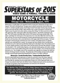 2191 Motorcycle - Chicago Coin