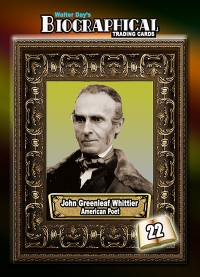 0022 John Greenleaf Whittier