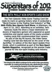 0228 - The 56th Philly Non-Sports Trading Card Show