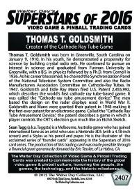 2407 Thomas T. Goldsmith