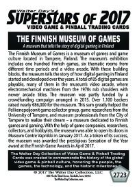 2723 The Finnish Museum of Games