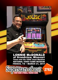 2762 Lonnie McDonald - 150th Joust Victory
