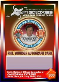 0300D - Phil Younger Autograph Card