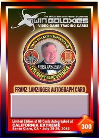 0300E - Franz Lanzinger Autograph Card