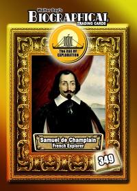 0349 Samuel de Champlain