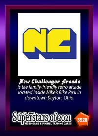 3528 - New Challenger Arcade