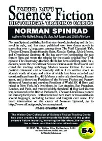 0054 Norman Spinrad
