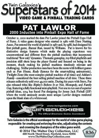 0836 Pat Lawlor