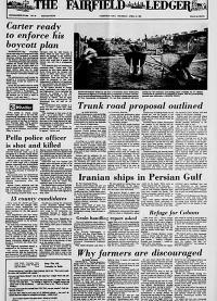 April 10, 1980 Fairfield Ledger, Fairfield, Iowa